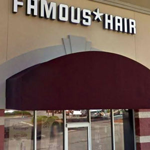 Famous Hair price list