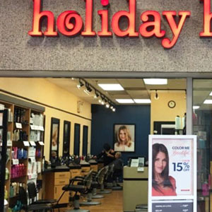 Holiday Hair price list