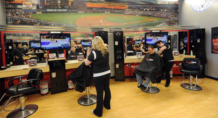 Sport Clips salon for men