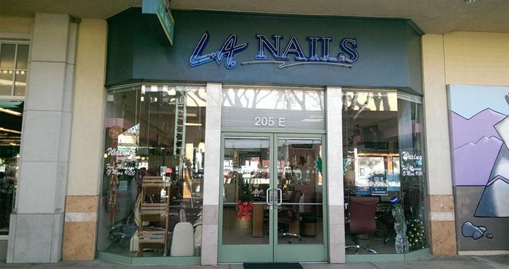 LA Nails salon pricing