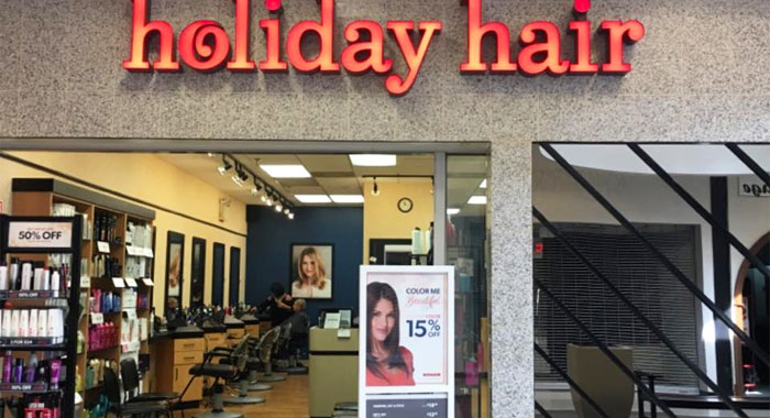 Holiday Hair salon
