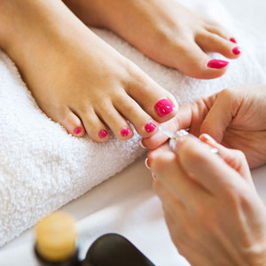 salon pedicure