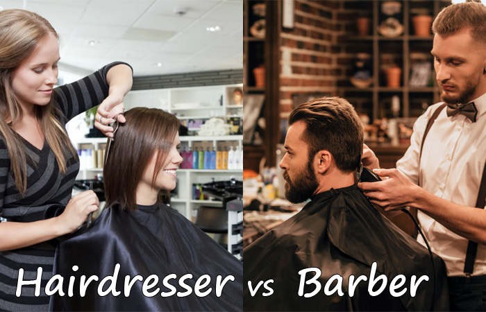 hairdresser vs barber