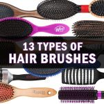 different hairbrush types