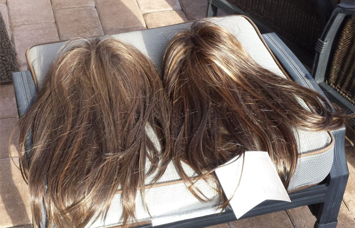 dry synthetic wig
