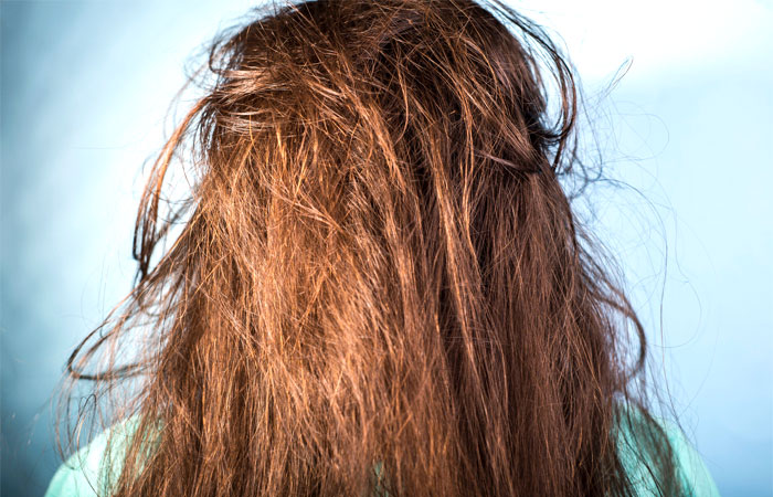 overconditioned hair