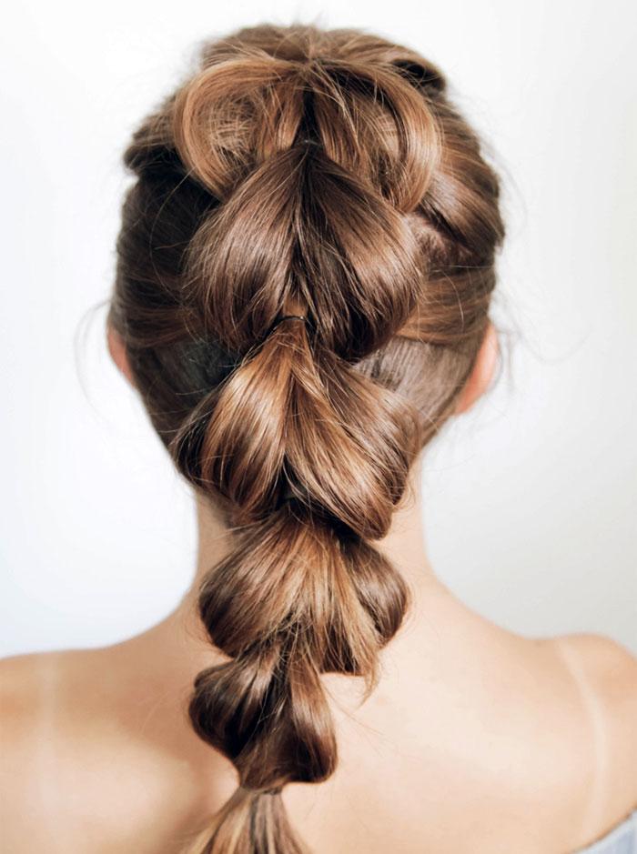 pull-through braids
