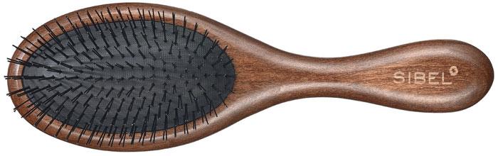 synthetic bristle hair brush